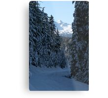 An Oregon Christmas Metal Print