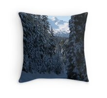An Oregon Christmas Throw Pillow