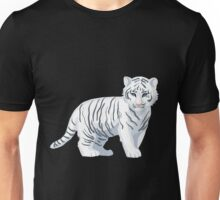 White Tiger Baby Unisex T-Shirt