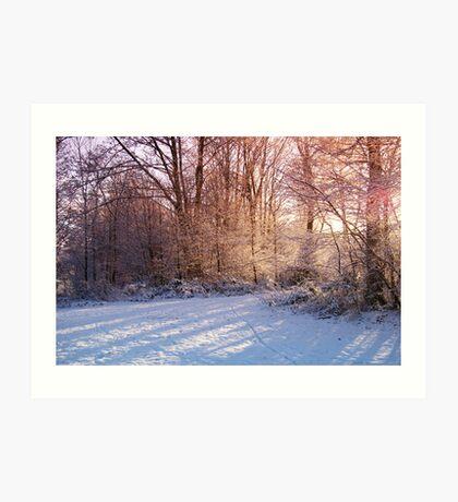 Cold Christmas Eve Art Print