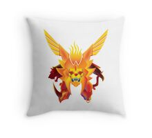 The KING of Beasts Throw Pillow