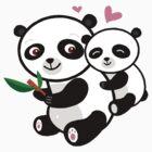 Panda Love by Terry Best