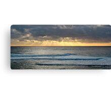 Sunset off Prevelly Beach, Western Australia Canvas Print
