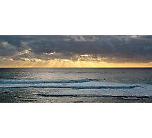 Sunset off Prevelly Beach, Western Australia Photographic Print
