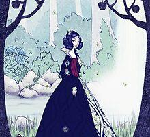 Snow White and the Seven Dwarfs by Lorena Garcia