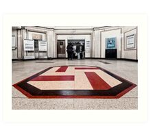 Upminster Bridge Tube Station Art Print