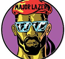 Major Lazer logo by purplehayes