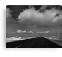 Lost Highway Canvas Print
