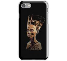 Bust of Nefertiti  the Great Royal Wife iPhone Case/Skin