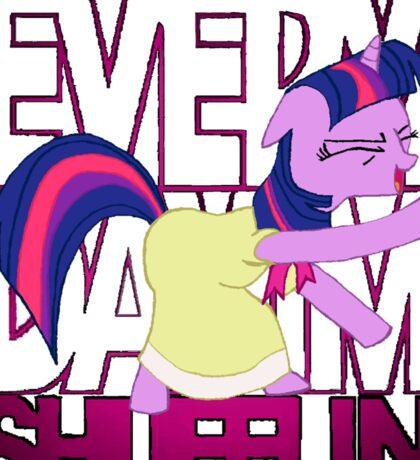 Twilight Sparkle LMFAO Shufflin' Sticker