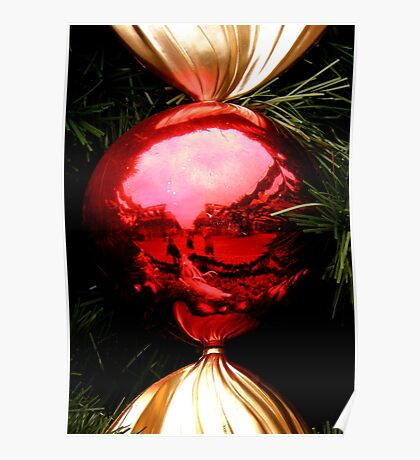 May The Holidays Season Color Your World Beautifully ! Poster