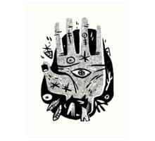 Lend a Hand Art Print