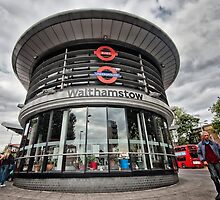 Walthamstow Tube Station by AntSmith