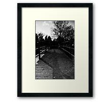 Bridge Over the River Coln Framed Print