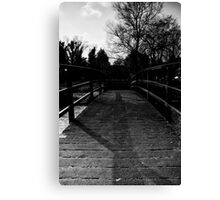 Bridge Over the River Coln Canvas Print