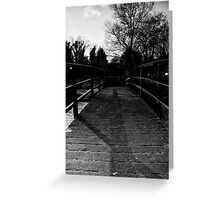 Bridge Over the River Coln Greeting Card