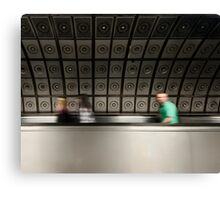 Waterloo Tube Station Canvas Print