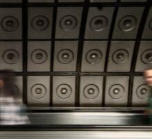 Waterloo Tube Station Sticker