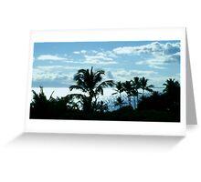 Hawaiin Sky Greeting Card