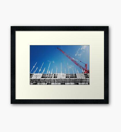 Wembley Central Tube Station Framed Print