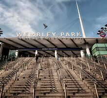 Wembley Park Tube Station by AntSmith