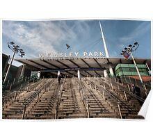 Wembley Park Tube Station Poster