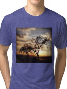 Country Sunset Tri-blend T-Shirt