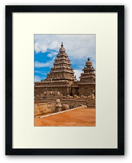 Mahabalipuram Temple by Nickolay Stanev