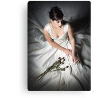 Nicole -Wedding Dress 02 Canvas Print