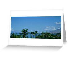 Hawaiin Sky II Greeting Card