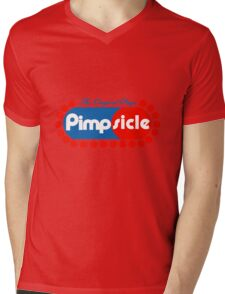 Pimpsicle Mens V-Neck T-Shirt