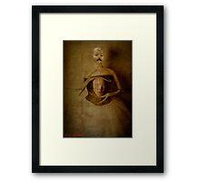 Poltergeist. Framed Print