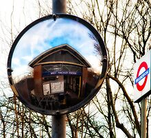West Finchley Tube Station by AntSmith