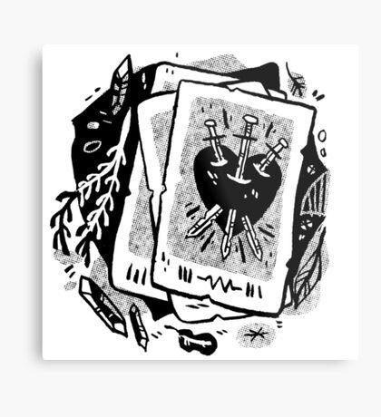 cards Metal Print