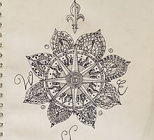 Compass Mandala by g-ohm-etry