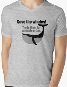 Save the whales! Trade them for valuable prizes. T-Shirt