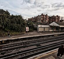 West Kensington Tube Station by AntSmith