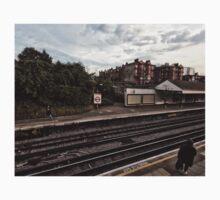 West Kensington Tube Station Kids Tee