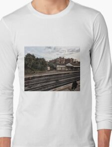 West Kensington Tube Station Long Sleeve T-Shirt