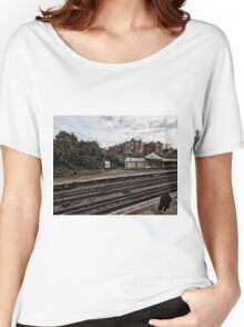 West Kensington Tube Station Women's Relaxed Fit T-Shirt