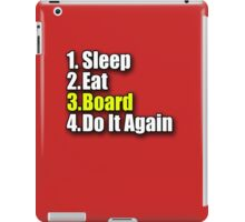 Eat Sleep Board T-Shirt Sticker - Skateboard Snowboard Surfboard iPad Case/Skin