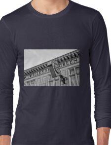 Willesden Green Tube Station Long Sleeve T-Shirt