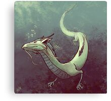 Haku. Spirited Away Canvas Print