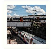 Willesden junction Tube Station Art Print