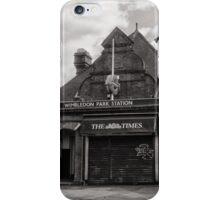 Wimbledon Park Tube Station iPhone Case/Skin