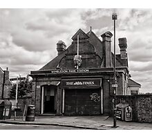 Wimbledon Park Tube Station Photographic Print