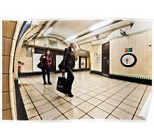 Wood Green Tube Station Poster