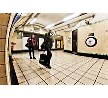 Wood Green Tube Station Photographic Print