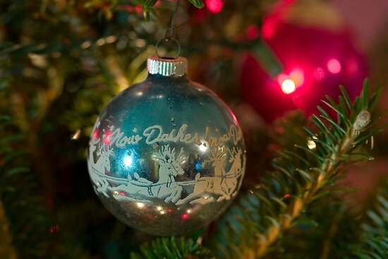 1940's Christmas Ornament by Gene Walls