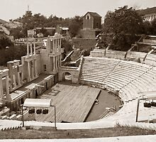 Plovdiv Amphitheater by Nickolay Stanev
